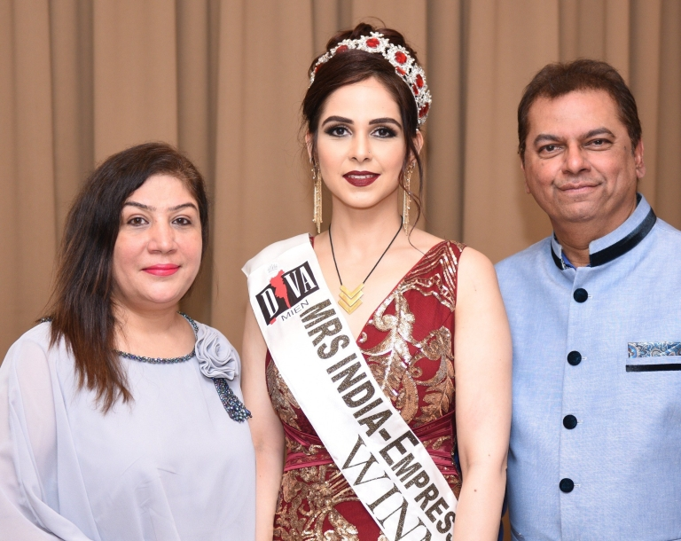 Pune's renowned cosmetologist, Dr. Gaurangi Shrawat won the prestigious Mrs India – Empress of The Nation 2018 pageant